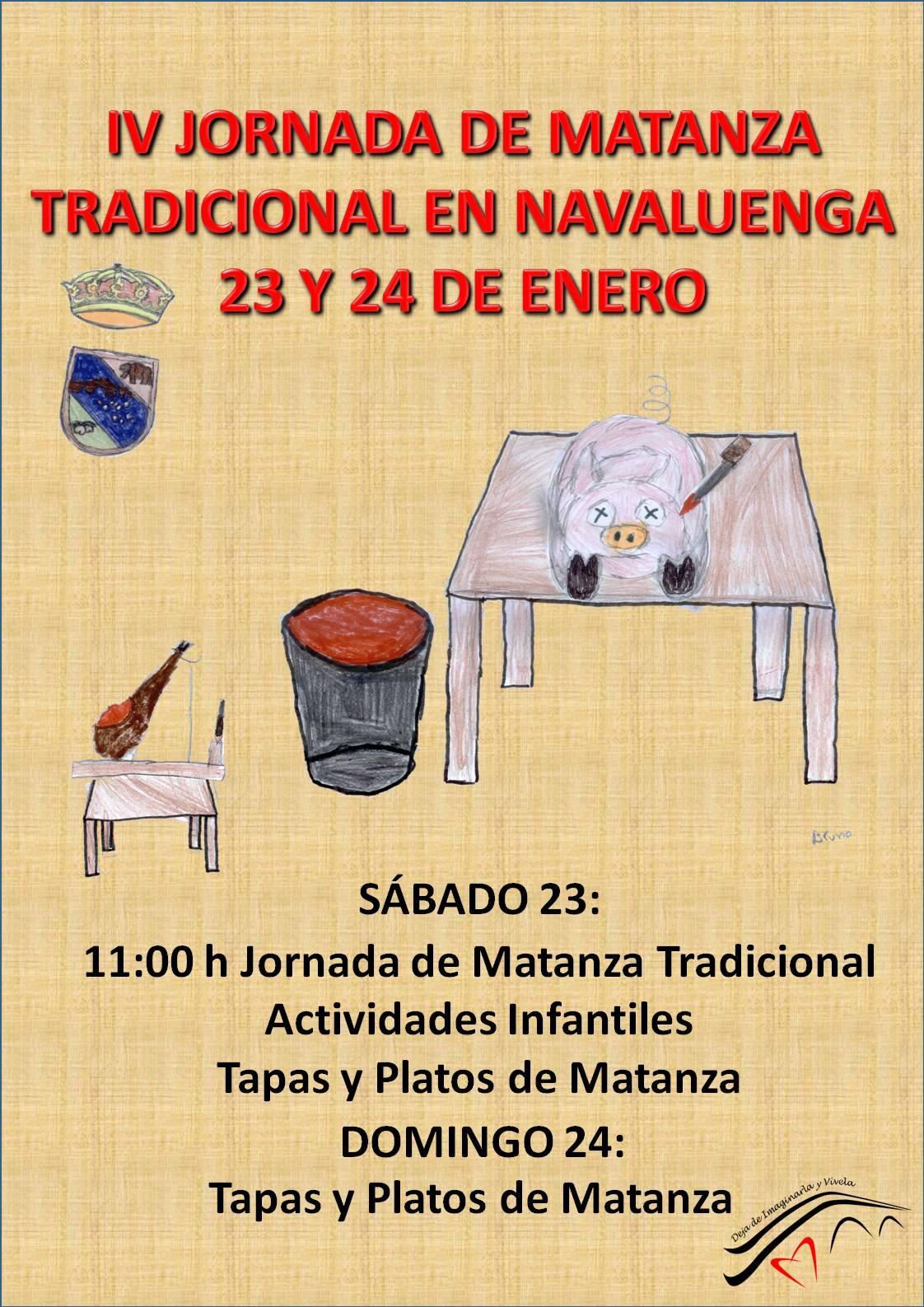 Matanza Tradicional Navaluenga 23 y 24 de enero y nuestra oferta de alojamiento